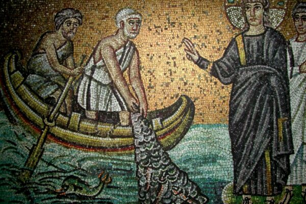 06 Venice The calling of the apostles Venice: Mosaics from San Marco, Santa Maria Assunta in Torcello, and Murano